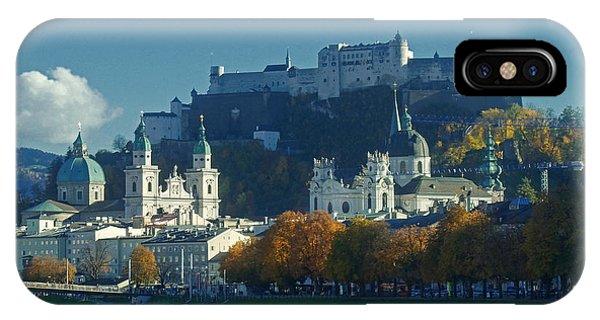 Salzburg Austria In Fall IPhone Case