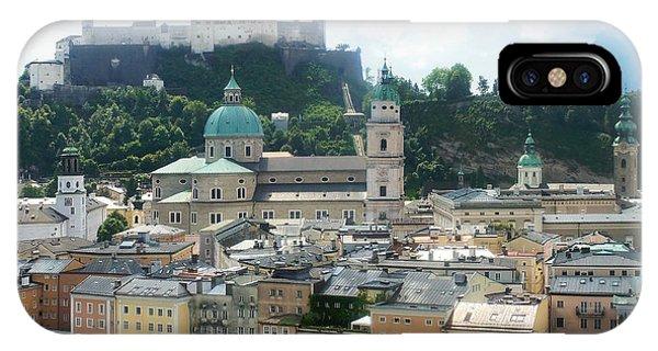Salzburg Austria Old Town 3 IPhone Case