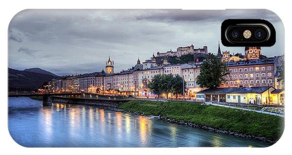 Salzburg Sunset IPhone Case