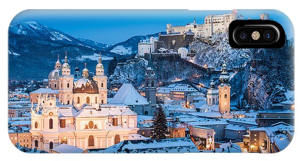 Salzburg Winter Romance IPhone Case
