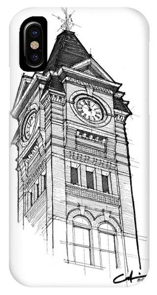Samford Hall IPhone Case