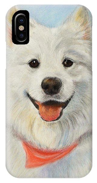 Samoyed Painting IPhone Case