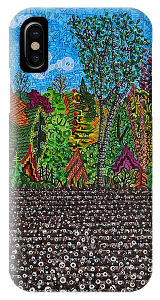Sampson County Cotton Field Phone Case by Micah Mullen