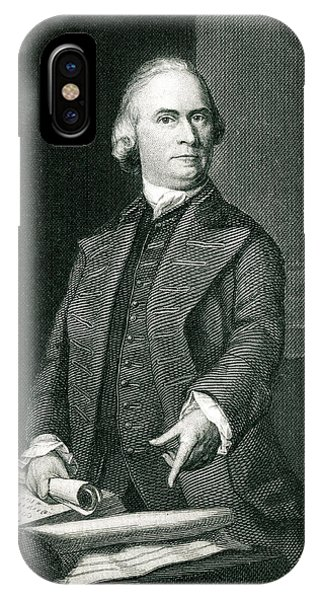 Samuel Adams  American Revolutionary Phone Case by Mary Evans Picture Library