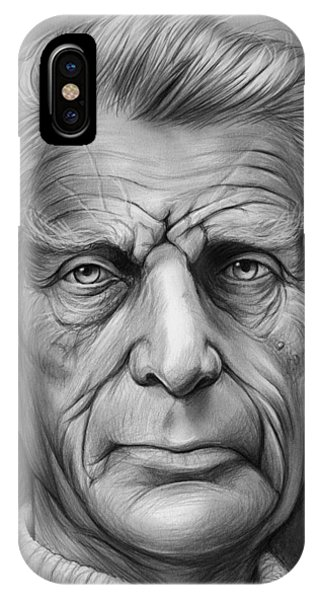Irish iPhone Case - Samuel Beckett by Greg Joens