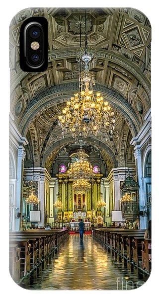 San Agustin Church  IPhone Case