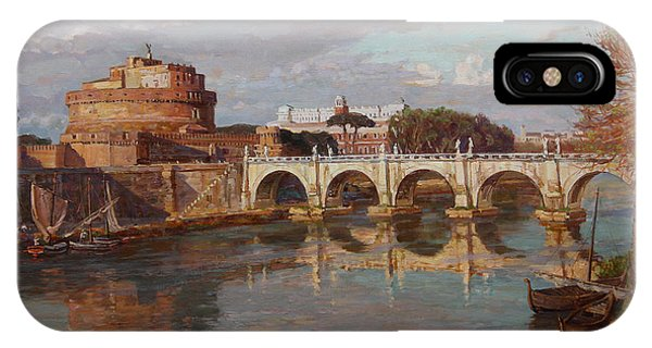 San-angelo Castle Phone Case by Korobkin Anatoly