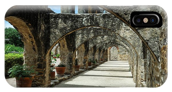 San Antonio Mission Arches IPhone Case