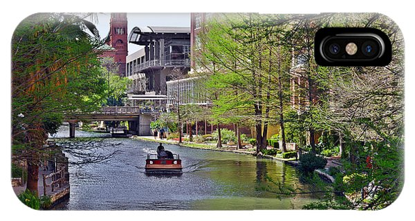 San Antonio River Walk IPhone Case