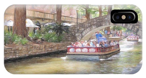 San Antonio River Walk  IPhone Case