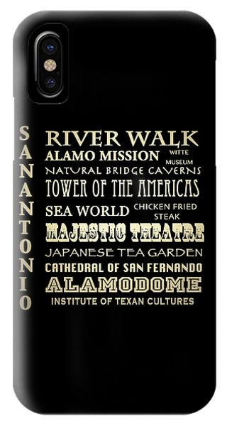 The Alamo iPhone Case - San Antonio Texas Famous Landmarks by Patricia Lintner