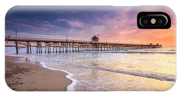 San Clemente Pier IPhone Case