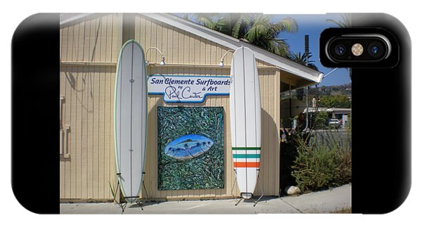San Clemente Surfboards IPhone Case