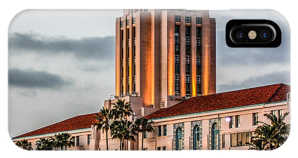 San Diego County Administration Center IPhone Case