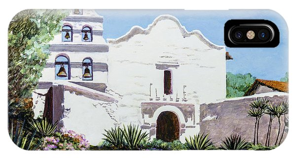 San Diego Mission De Alcala IPhone Case