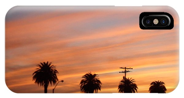 San Diego Sunset 2 IPhone Case