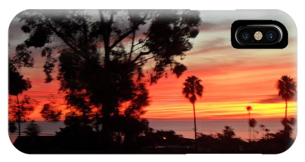 San Diego Sunset 5 IPhone Case
