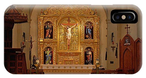 San Fernando Cathedral Retablo IPhone Case