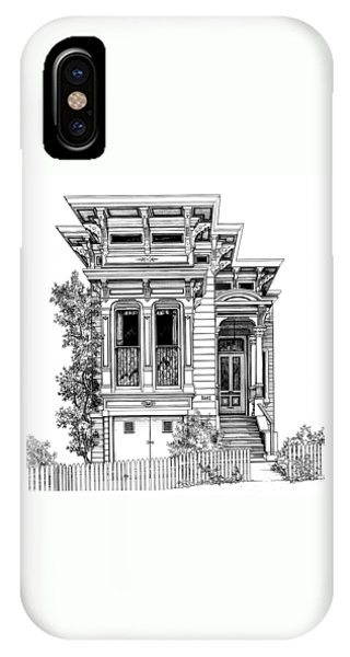 San Fracisco Victorian2 IPhone Case