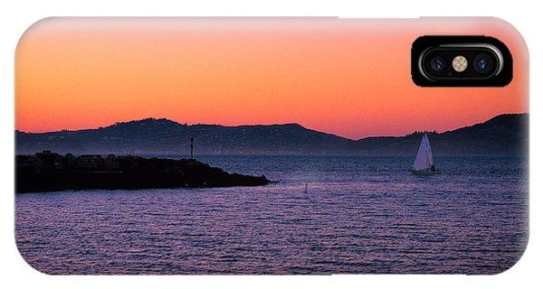 San Francisco Bay At Dusk 2 IPhone Case