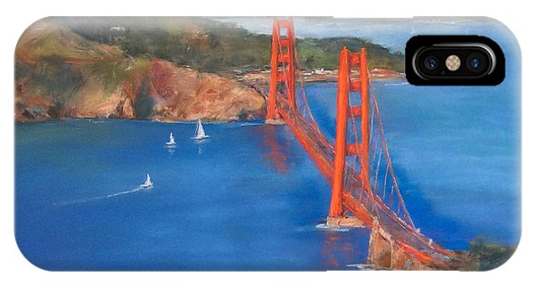San Francisco Bay Bridge IPhone Case