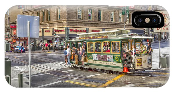 IPhone Case featuring the photograph San Francisco Cable Car by Susan Leonard
