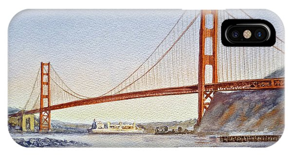 San Francisco California Golden Gate Bridge IPhone Case