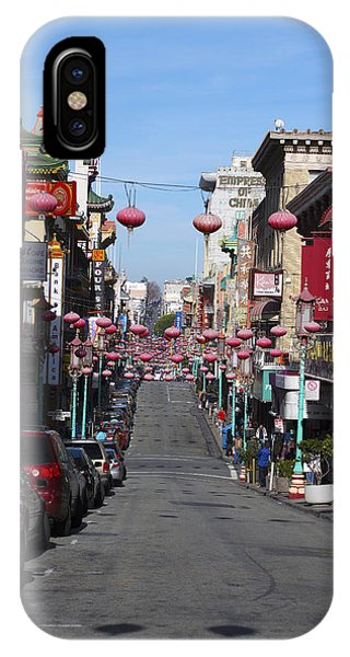San Francisco Chinatown Phone Case by Christopher Winkler
