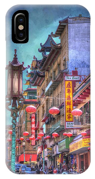 San Francisco Chinatown IPhone Case