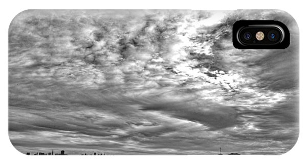 San Francisco Clouds IPhone Case