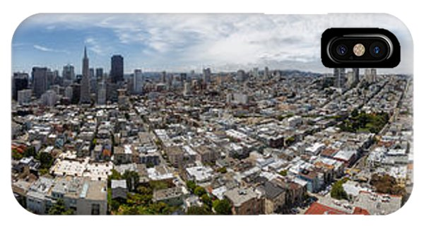 San Francisco Daytime Panoramic IPhone Case