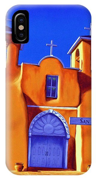 San Francisco De Asis IPhone Case