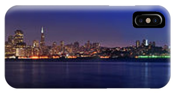 San Francisco Dusk Panorama IPhone Case