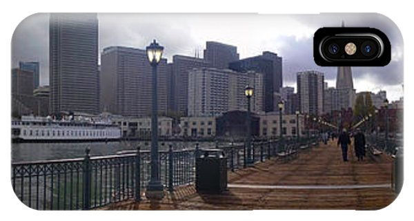 San Francisco From Pier IPhone Case