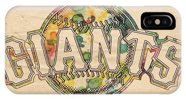 San Francisco Giants iPhone Case - San Francisco Giants Poster Art by  Florian Rodarte b3f04ebd92