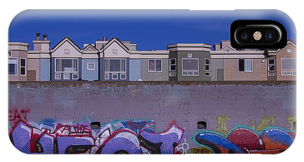 Condo iPhone Case - San Francisco Graffiti by Garry Gay