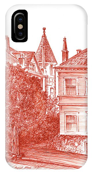 San Francisco Jackson Street IPhone Case