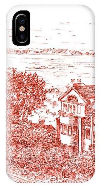San Francisco Leavenworth Street Bay View IPhone Case