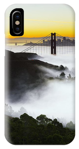 San Francisco iPhone Case - San Francisco Morning Fog by David Yu