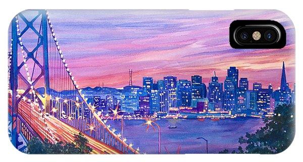 San Francisco Nights IPhone Case