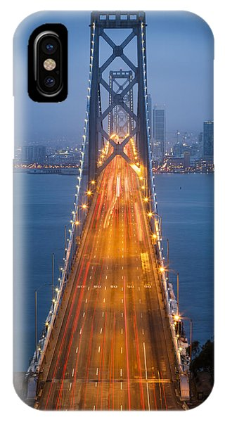 San Francisco - Oakland Bay Bridge IPhone Case