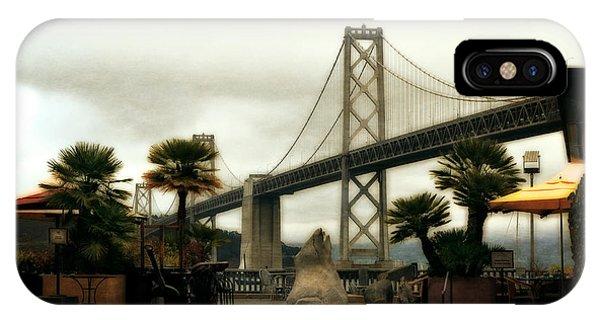 San Francisco Oakland Bay Bridge IPhone Case