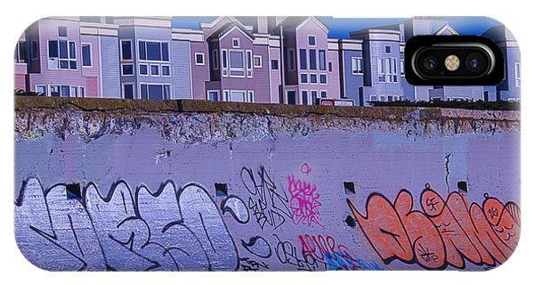 Condo iPhone Case - San Francisco Sea Wall by Garry Gay