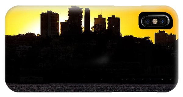 IPhone Case featuring the photograph San Francisco Silhouette by Kate Brown