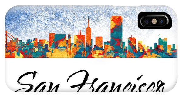 San Francisco Skyline  Phone Case by Special Tees