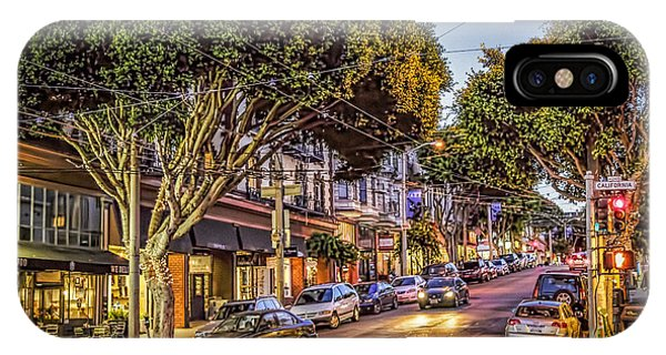 IPhone Case featuring the photograph Hdr Effect - San Francisco Street by Susan Leonard