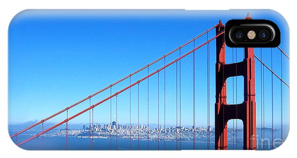San Francisco - The City With The Golden Gate IPhone Case
