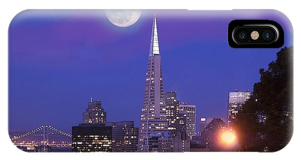 San Francisco - A Golden Handcuff IPhone Case