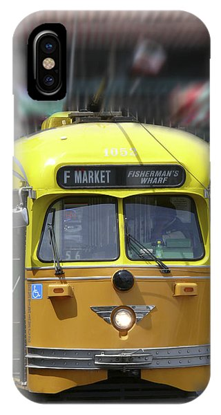 Trolley Car iPhone Case - San Francisco Trolley Car by Mike McGlothlen