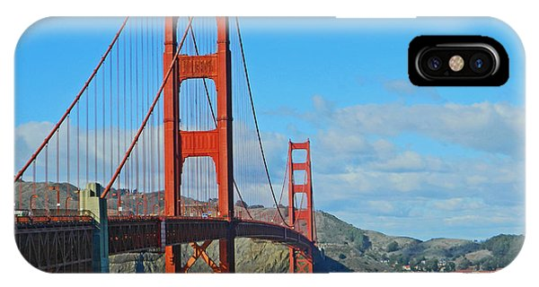 San Francisco's Golden Gate Bridge IPhone Case